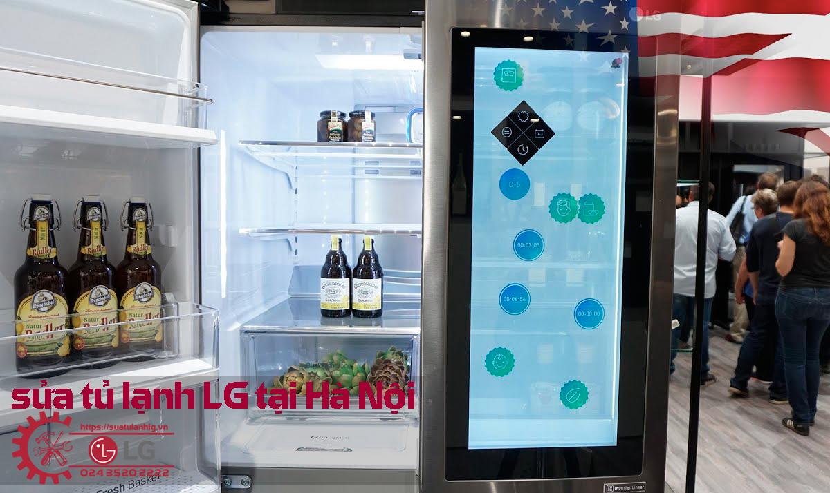 Dịch vụ sửa tủ lạnh LG tại Hà Nội, sửa tận nơi với giá tốt nhất